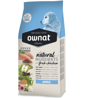 OWNAT Dog Classic Junior 15 kg.