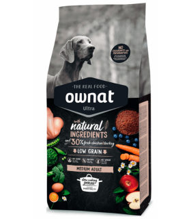 Ownat Ultra Medium Adult 14 Kg.