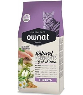 Ownat Cat Classic Sterilised 15 Kg