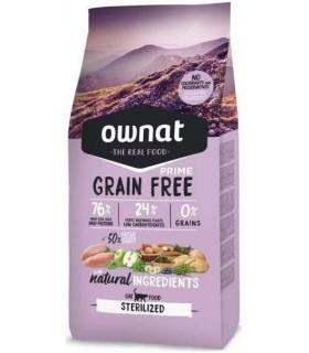 Ownat Prime Alimento Seco para Gato Esterilizado – 8000 gr