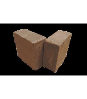 Bloque de fibra de coco prensado